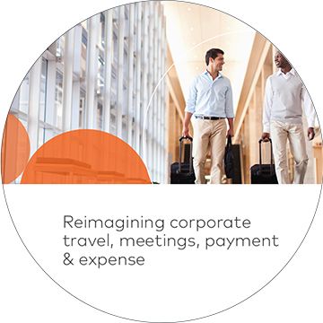 Reimagining corporate travel, meetings, payment & expense