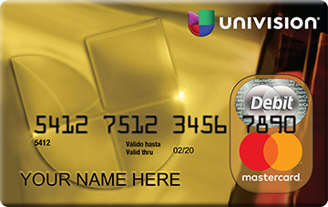 bancorp univision mastercard prepaid card - Where Can I Get A Prepaid Card