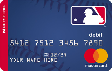 Netspend<sup>®</sup> Prepaid Mastercard - Proud Partner of MLB