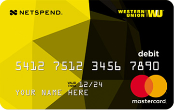 western union netspend mastercard prepaid card - Cute Prepaid Debit Cards