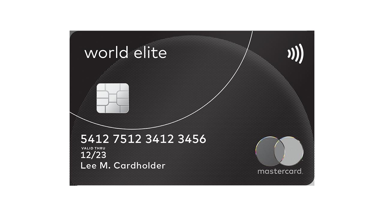 Premium Travel & Lifestyle Perks  World Elite Mastercard Credit Card
